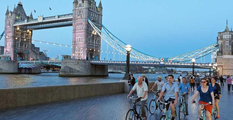 London: 3-Hour Sunset Bike Tour