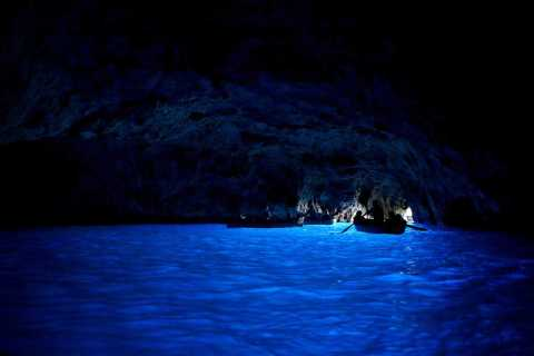 From Naples: Capri and Blue Grotto Day Tour