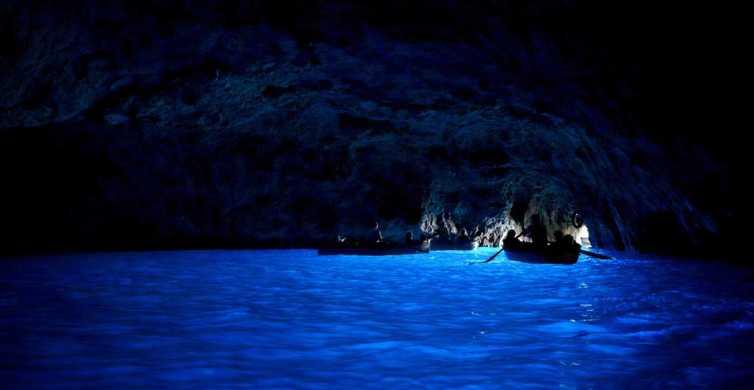Da Napoli: tour di 1 giorno di Capri e della Grotta Azzurra