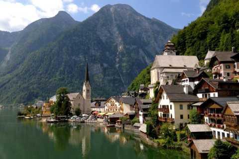Excursion d'une journée privée à Hallstatt, y compris les belles Alpes