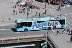 Barcelona: Traslado de Aerobús Aeroporto / Centro da Cidade