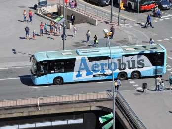 Barcelona: Aerobús-Shuttle zwischen Flughafen und Zentrum