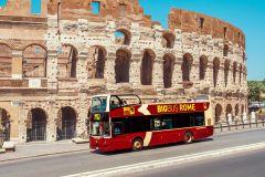 Roma: Circuito de Ônibus Turístico Hop-On Hop-Off