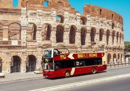 достопримечательности Рим - Рим: обзорный тур на автобусе hop-on hop-off