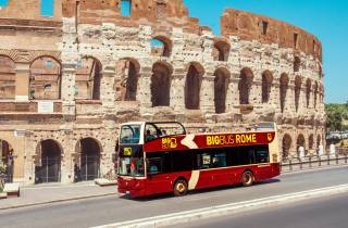 Rom: Sightseeing-Tour im Hop-On/Hop-Off-Bus