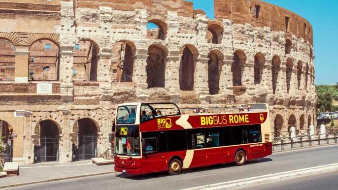 Roma: tour en autobús turístico