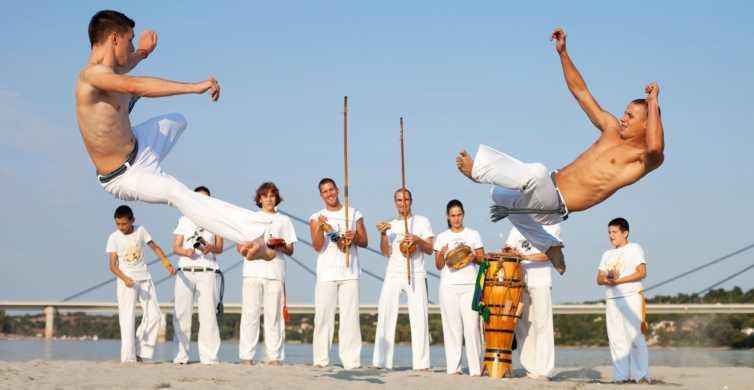 Salvador: 3-Hour Capoeira Class