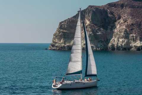 Santorini Caldera: Morning Sailing Cruise with Meal