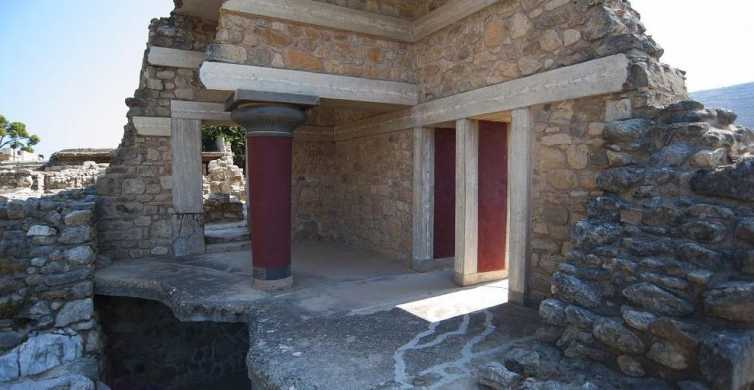 From Heraklion: Day Trip to Knossos and the Lasithi Plateau