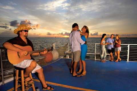 Key West: Sunset Party Cruise by Catamaran