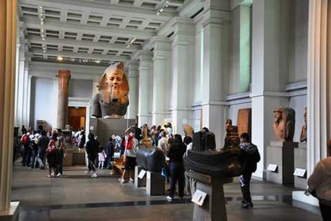 Galeria Nacional e Visita Guiada ao Museu Britânico