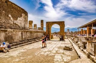 Ab Rom: Tagesausflug nach Pompeji