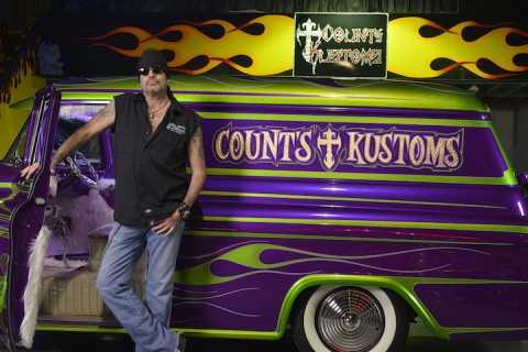 Las Vegas: Count's Kustoms Meet and Greet VIP Dinner Tour