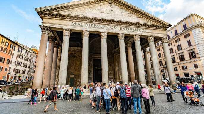 Roma: tour a pie en grupo reducido de fuentes y plazas