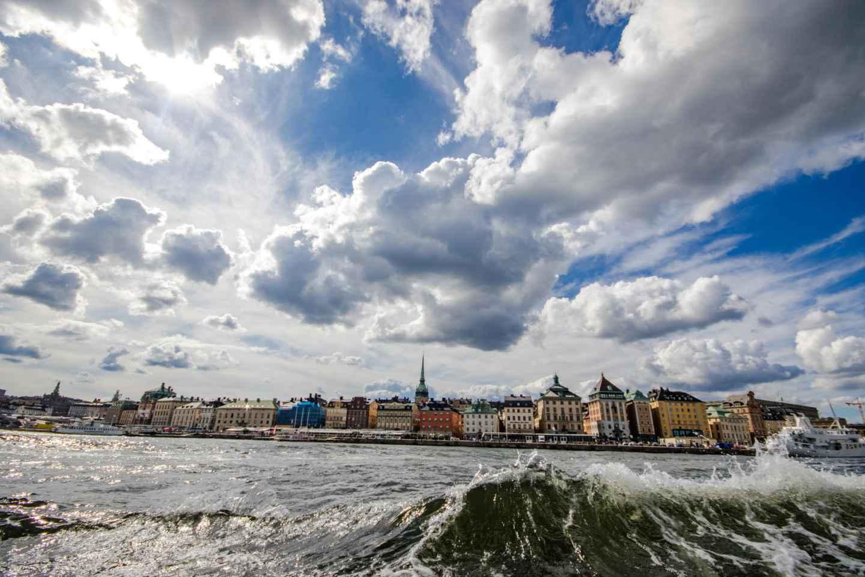 Stockholm mit dem Boot – Königliche Kanaltour