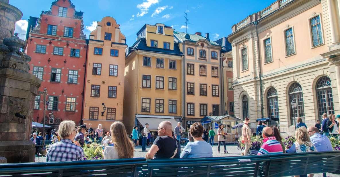 Stoccolma: tour hop-on hop-off in autobus o autobus e barca