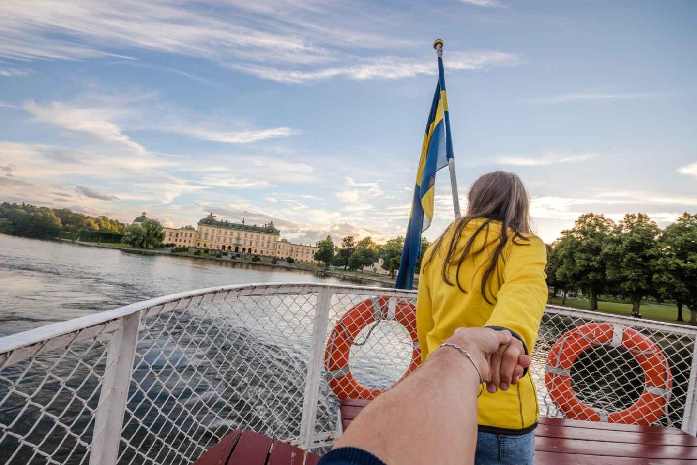 Ab Stockholm: Bootsfahrt zum Schloss Drottningholm