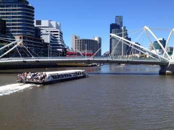 Highlights von Melbourne: Flussfahrt