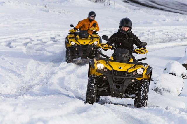 Reykjavik: Twin Peaks tour met de quad