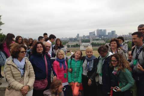 Tour italiano di Greenwich con Thames Cruise