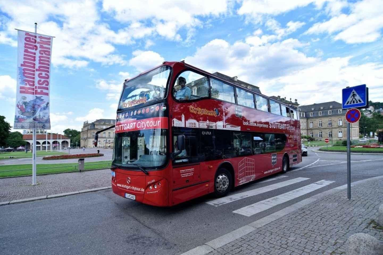 Stuttgarter 24-Stunden-Hop-On-Hop-Off-Sightseeing-Bustour
