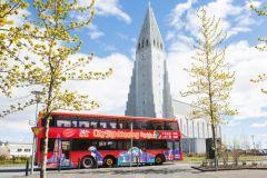 Reykjavik: Bilhete 24 ou 48 Horas Ônibus Hop-On Hop-Off