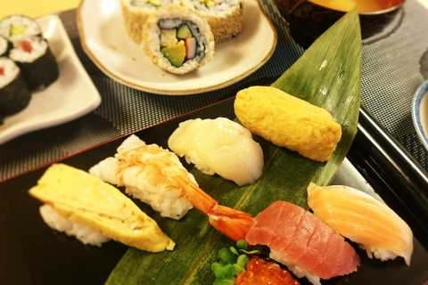 Tokyo: corso per preparare il sushi