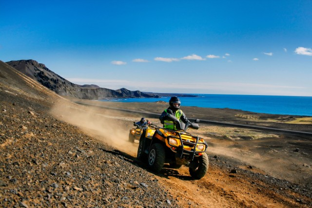 Panorama 1 uur ATV / Quad Adventure in Reykjanes Geopark