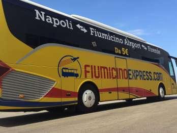 Von Neapel: Bus Transfer zum Flughafen Rom-Fiumicino