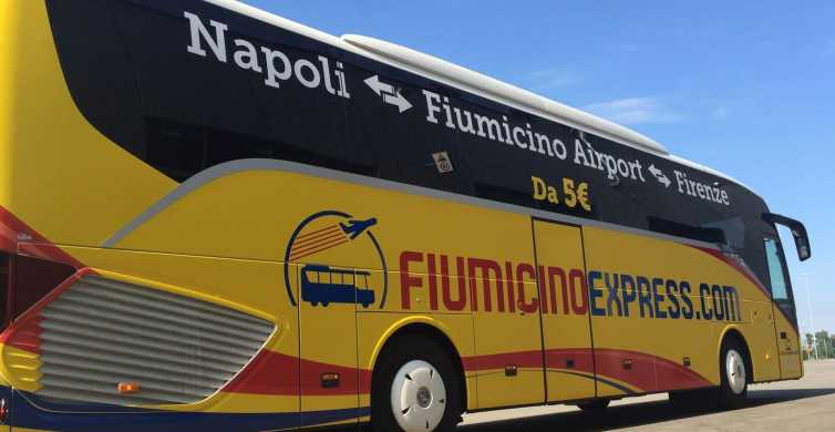 From Naples: Bus Transfer to Rome Fiumicino Airport