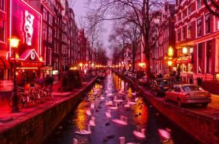Amsterdam: Rotlichtviertel-Tour auf Deutsch