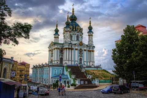 Kiev: 3-Hour Andrew Descent & Podil District Tour