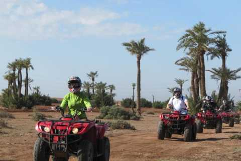 Palmeraie: tour in quad-bike da Marrakech