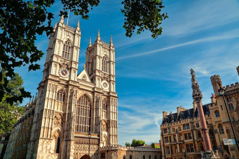 London in der Art mit Afternoon Tea in der Westminster Abbey