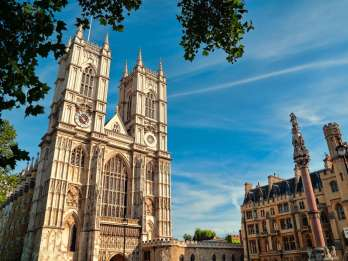 London in der Art mit Afternoon Tea in der Westminster Abbey
