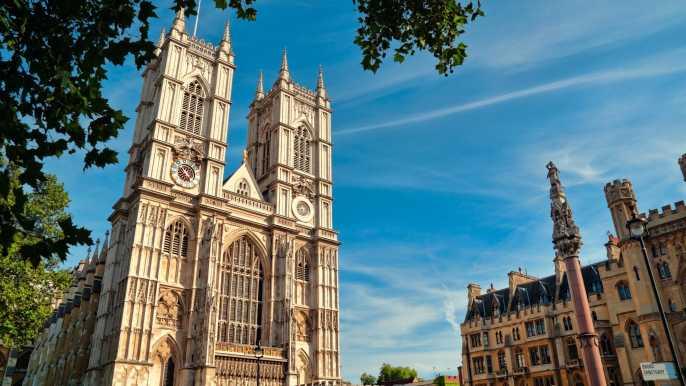 Londres en estilo con el té de la tarde en la abadía de Westminster