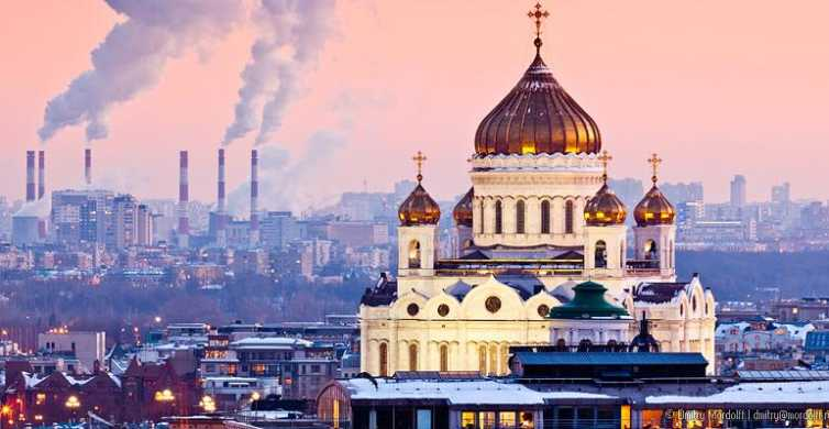 Moscow: Full-Day Private Winter Tour