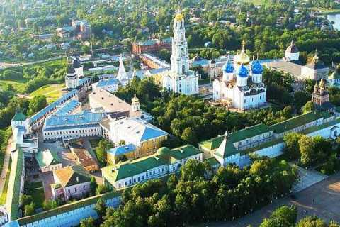 Mosca: escursione di un'intera giornata al tour di Sergiev Posad