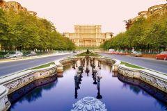 Bucareste: passeio de bicicleta de meio dia