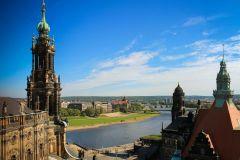 Excursão a Pé pela História de Dresden em Alemão c/ Prosecco