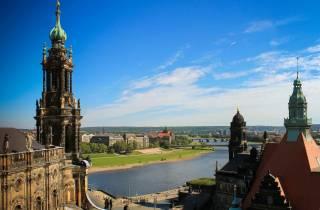 Dresden: Historischer Rundgang auf Deutsch mit Prosecco