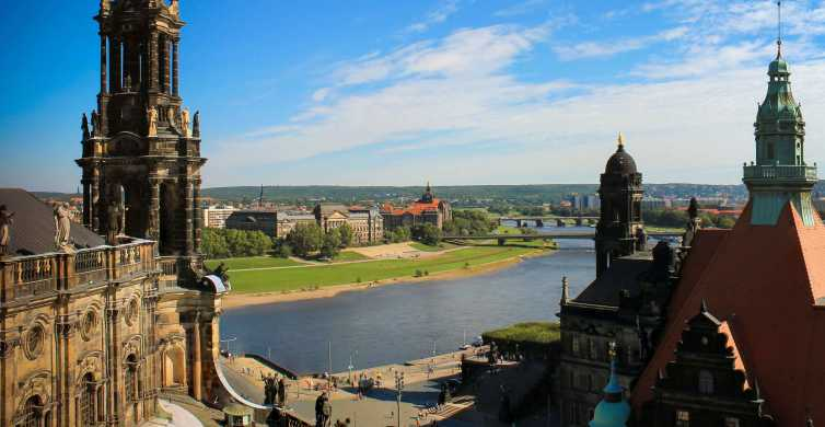 Dresden: Historical Walking Tour in German With Prosecco