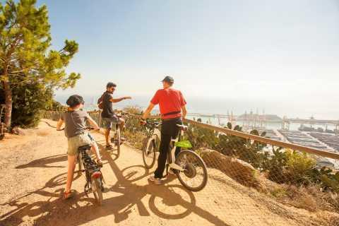 Barcelona: E-Bike Tour, Cable Car Ticket & Sailing Trip