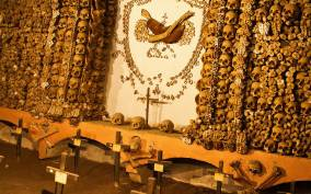 Catacombs of Rome Exclusive After Hours and Bone Chapel Tour