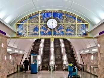 Sankt Petersburg: U-Bahn-Tour