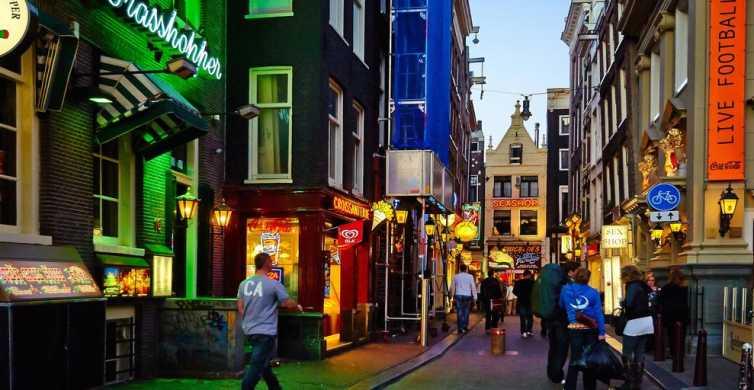 Amsterdam: Private Rotlichtviertel- & Food-Tour