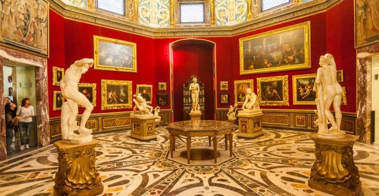 Florence: tickets Uffizi en audiogids