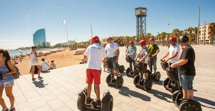 Barcelona: 1,5-times guidet Segway-tur