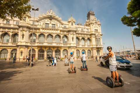 Barcelona: 1-Hour Sightseeing Segway Tour