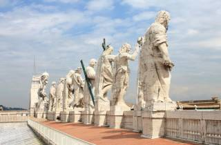 Petersdom: Tour mit Kuppel-Aufstieg & Vatikanische Grotten